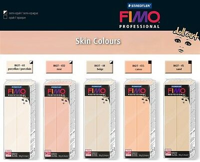 FIMO PROFESSIONAL - DOLL ART - 350g OVEN BAKE CLAY SKIN COLOURS