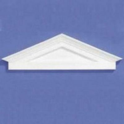 12th Scale White Plastic Pediment For Dolls House Doors 7025