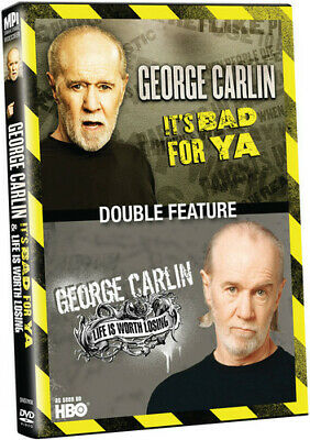 Carlin,George - It's Bad For Ya/Life Is Worth Losing (2013, DVD NEW)