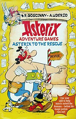Asterix to the Rescue: Adventure Game Book (Asterix adven... by Uderzo Paperback
