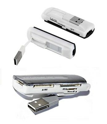 Cable Cle Usb Lecteur Carte Memoire Micro Sd Sdhc 2 4 8 16 32Gb/go M2 Ms Pro Duo