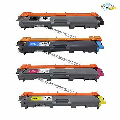 4Pk TN221 BK TN225 Color Toner For Brother MFC-9130CW, MFC-9330CDW, MFC-9340CDW