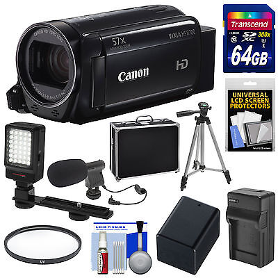 Canon Vixia HF R700 1080p HD Video Camera Camcorder Kit Black