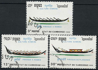 Cambodia 1989 SG#1036-8 Khmer Culture Cto Used Set #D10377
