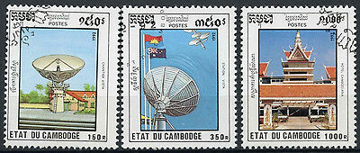 Cambodia 1992 SG#1270-2 National Transport Cto Used Set #D10383