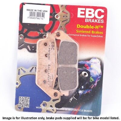 Kymco Grand Dink/Miler 125/150 (S40000-00) 2002 EBC Sintered HH Rear Brake Pads