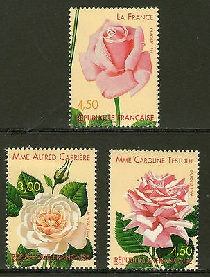 Serie Timbres 3248-3250 Neuf Xx Luxe - Roses Anciennes