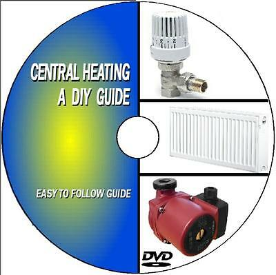 Diy Beginners Guide Service Maintain Upgrade Yr Central Heating Ststem Video Dvd