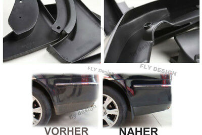 VW TOURAN CADDY 2006 - 10 Mud flaps Splash Guards Fender Mudguards Spritzlappen