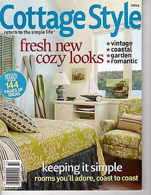 Country style cottage garden quilts applique quilting for Country cottage magazine