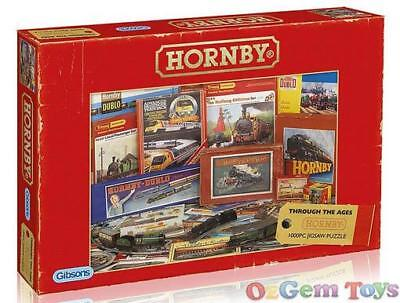 Gibsons Jigsaw Puzzle 1000 Piece Hornby Through The Ages