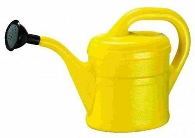 Childrens Kids Small Garden Plants Watering Can With Rose 1 Litre - Yellow