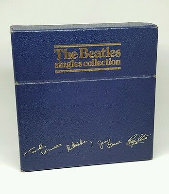 The Beatles Single Collection UK Parlophone BSCP1 26 45 Records Dust Covers.