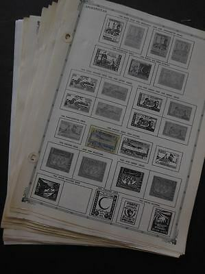 AFGHANISTAN : Mint & Used collection on album pages.
