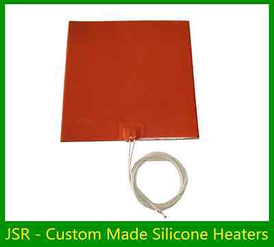 100mm X 100mm 50W 12V No 3M 25Pcs New Pack Free Shipping Silicone Heater Bargain