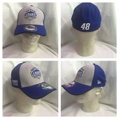 14314281e99 NASCAR 2016 Jimmie Johnson  48 Official New Era Lowes Pit Crew Driver Hat
