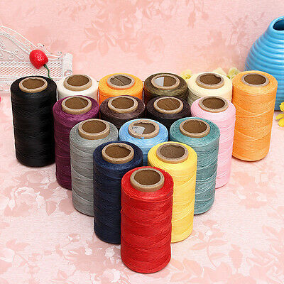 260m Leather Sewing Waxed Thread For Chisel Awl Upholstery Shoes Luggage