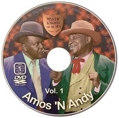 Amos And Andy Dvd Complete Digitally Restored N New Best Set Free Shipping