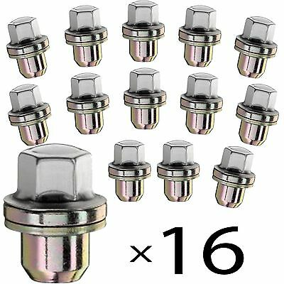 16 x Alloy Wheel Nuts Fit Genuine Range Rover Lm322 Sport Discovery 3 22mm P38