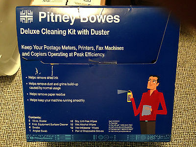 Pitney Bowes Deluxe Cleaning Kit with Duster