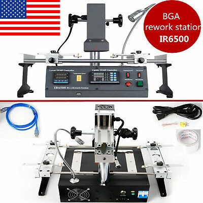 ACHI IR6500 Infrared BGA Rework Station Welder SOLDERING TECH for Xbox360 PS3