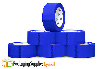 """36 Rolls Blue Color Packing Tape 2"""" x 55 Yards 2Mil Shipping Supplies Tapes"""
