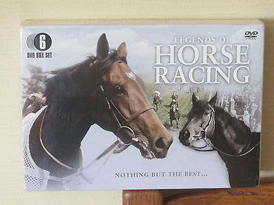 DVD Video Boxset (6) Legends Of Horse Racing