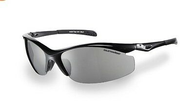 Sunwise Peak Mk1 Golf/cycling/cricket/triathlon Sunglasses (Black Frames)