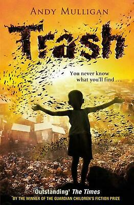 Trash by Andy Mulligan Paperback Book Free Shipping!