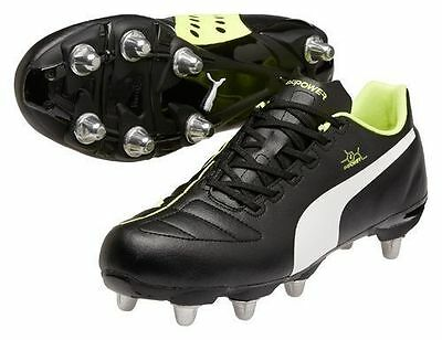 Puma evoPOWER 4 H8 SG Rugby Boots Sizes:(UK 6 - 13) 102973-01