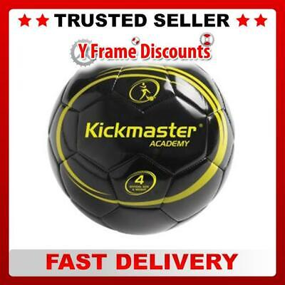 New Kickmaster Boys Academy Football Training Ball Official Size 4 and Weight