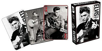 Elvis Presley Black & White photos set of  52 playing cards (+ jokers) (nm)