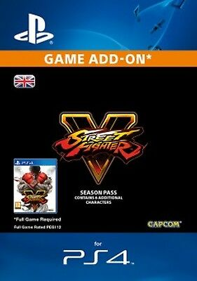 Street Fighter V Character Pass 2017 DLC PS4 -  Same Day Dispatch