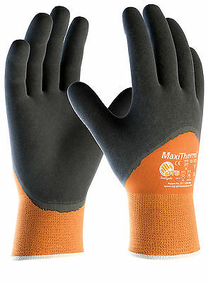 ATG MaxiTherm 30-202 Latex Foam Thermal Cold Protect 3/4 Dipped Work Wear Gloves