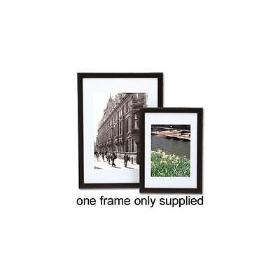 A3 Black Picture or Certificate Frame Portrait or Landscape with Styrene Front