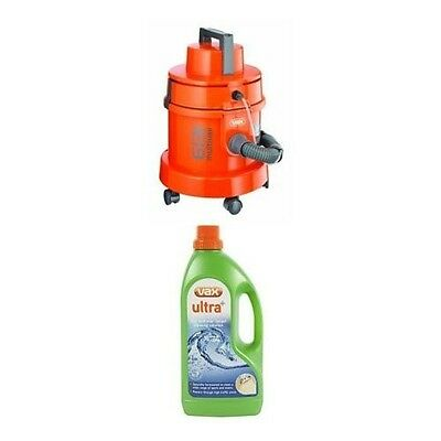 Vax 6131T 3-in-1 Multivax Dry Vacuum and Carpet Washer Orange/1300 Watts Vax
