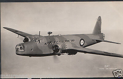 Military Aviation Postcard - Aeroplane - Bomber Plane   W511