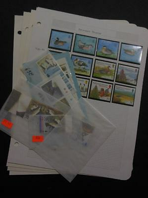 FALKLANDS : Beautiful collection. All Very Fine, MNH. Topicals. Scott Cat $235.