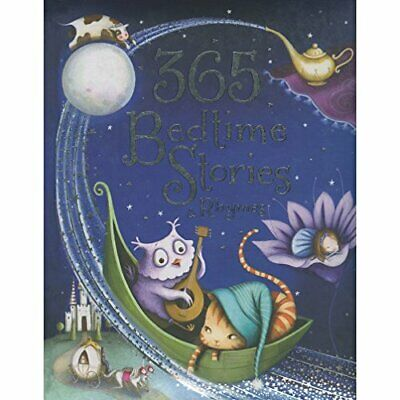 365 Bedtime Stories and Rhymes Book The Cheap Fast Free Post