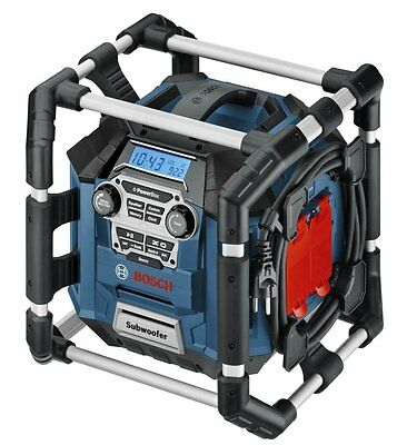 Bosch PB360S 18-Volt Lithium-Ion Power Box Jobsite Radio and Charger Brand NEW