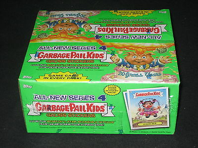 2005 Topps Garbage Pail Kids Gpk Series 4 Sealed Wax Pack Box Never Opened Nice