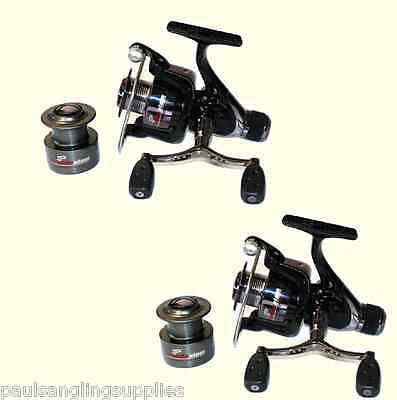 2 x  Coarse Feeder Spin Spinning Fishing Reel Grandeslam Advanced 4000