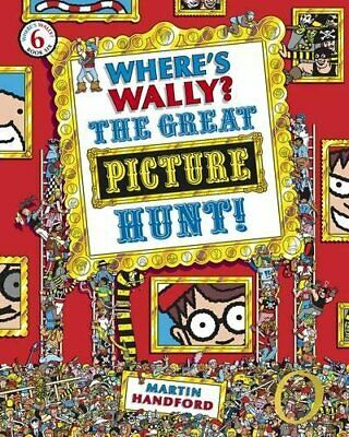 Where's Wally? The Great Picture Hunt by Handford, Martin Paperback Book The