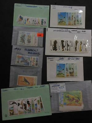 GRENADA & GRENADINES : Beautiful collection. All VF MNH. Topicals. Sc Cat $720+