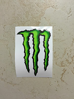 """Monster Energy Drink Classic Logo Promotional 4"""" Decal"""