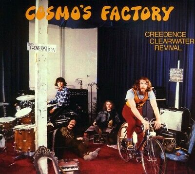Creedence Clearwater Revival - Cosmo's Factory [New CD] Bonus Tracks, Rmst, Digi