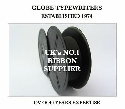 1 x 'EVEREST' *BLACK* TOP QUALITY* 10 METRE* TYPEWRITER RIBBON-TWIN SPOOL-SEALED