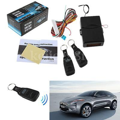 Universal Car Alarm Remote Control Central Vehicle Locking Keyless Entry System