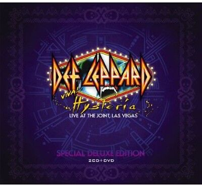 Def Leppard - Viva Hysteria [New CD] With DVD, Deluxe Edition