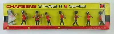 Vintage Charbens Straight 8 Series No 56 Guards Band Plastic Toy Soldiers, Boxed